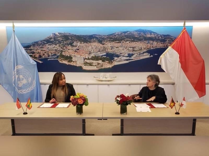 Ouverture de relations diplomatiques entre la Principauté de Monaco et la Grenade