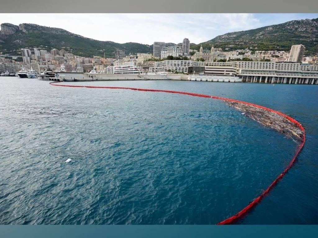 Les ports de Monaco fermés à cause des débris de la tempête Alex