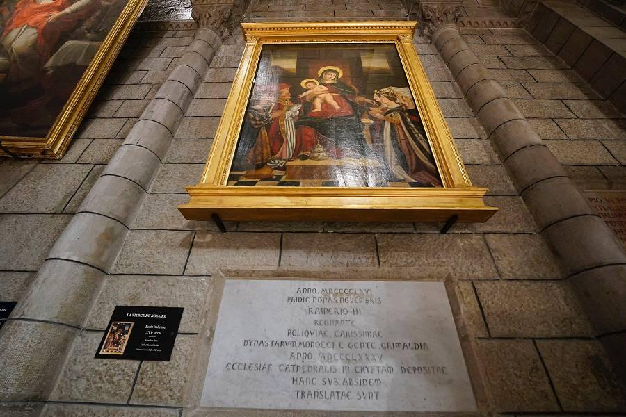La Vierge au Rosaire retrouve la Cathédrale