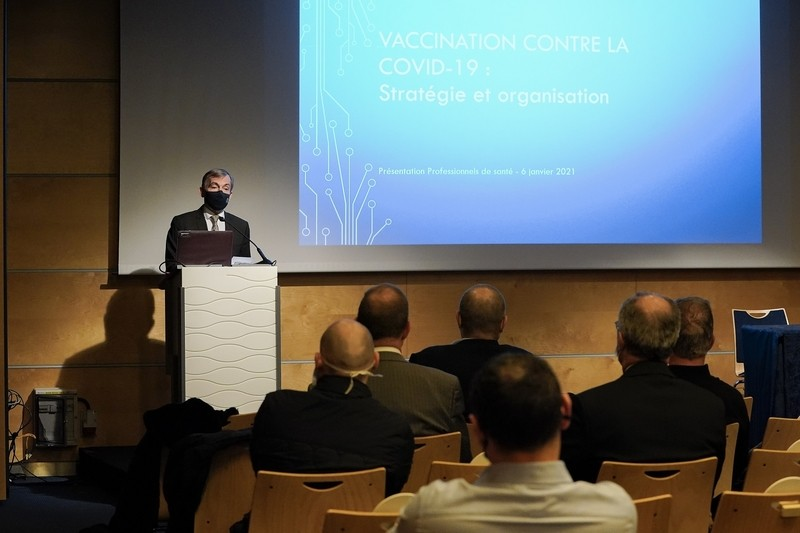 Lancement d'un comité de pilotage de la vaccination