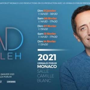 Gad Elmaleh revient au Grimaldi Forum