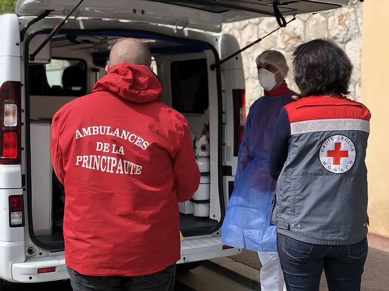 La Croix-Rouge de Monaco toujours en action contre la Covid-19