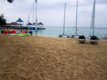 Beautiful beachside views and terrific watersports