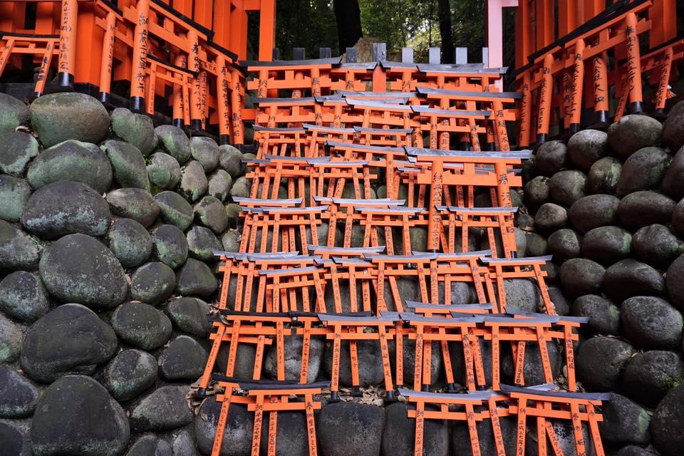visiting fushimi inari