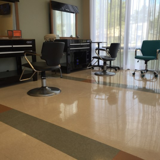 Spa O2 waiting room area