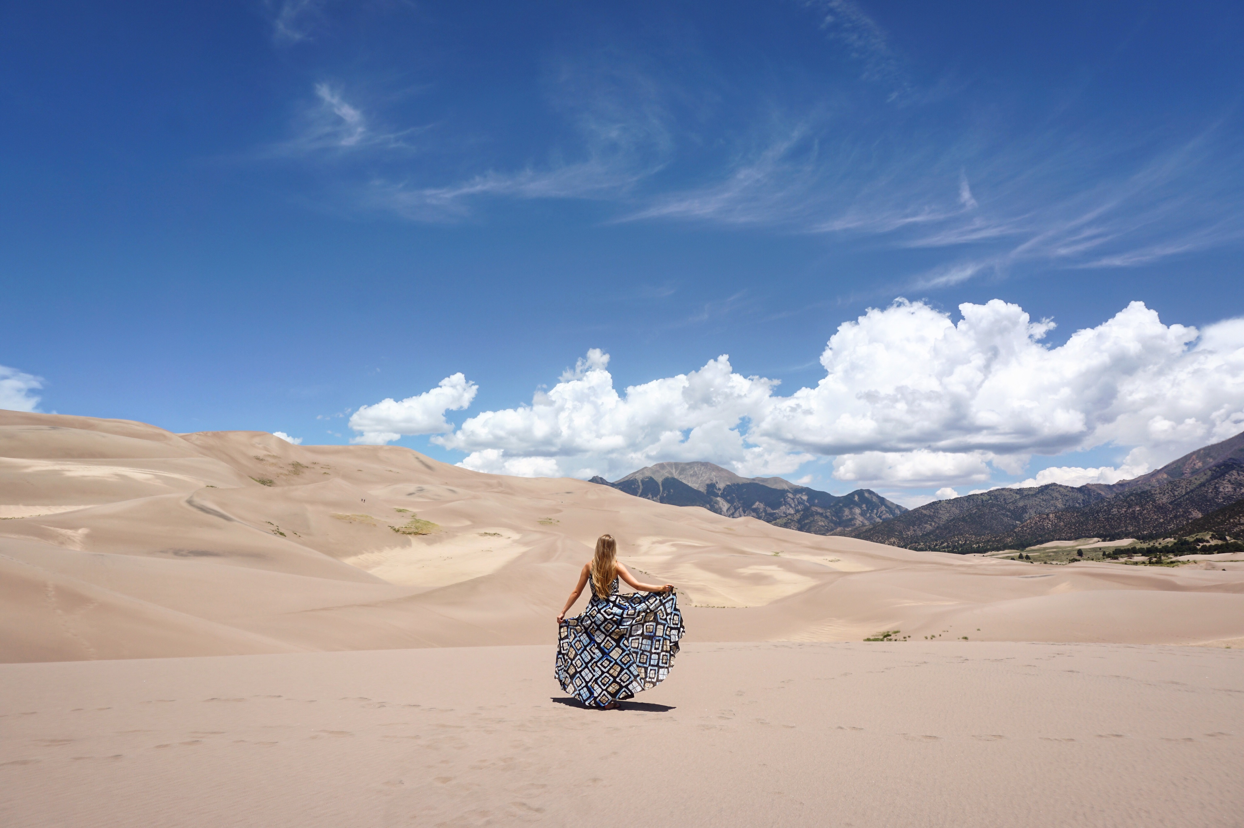 Great Sand Dunes National Park Pages of Travel
