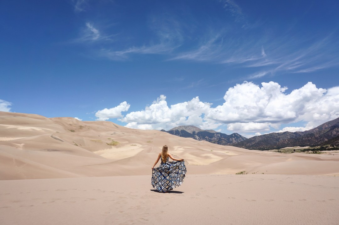 Great Sand Dunes National Park — The Greatest American ... |Great Sand Dunes National Park