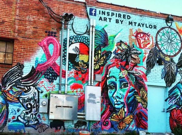 coolest street art - Tulsa, Oklahoma
