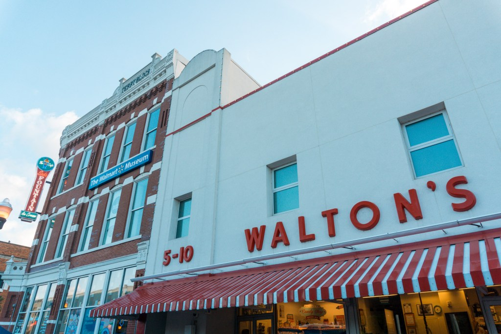 Walton's 5 & 10, The Walmart Museum - Northwest Arkansas