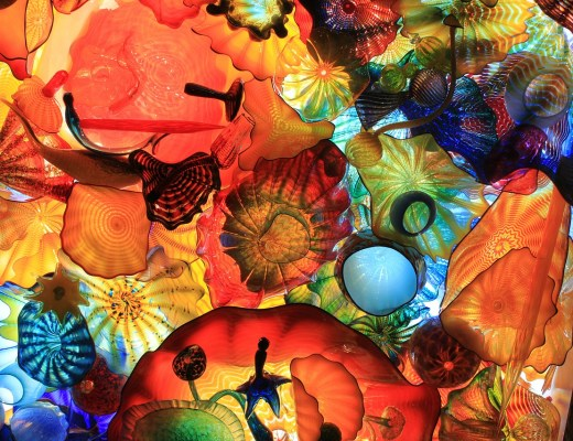 Crystal Bridges Museum of Art - Chihuly Exhibit | Bentonville, Arkansas | Northwest Arkansas