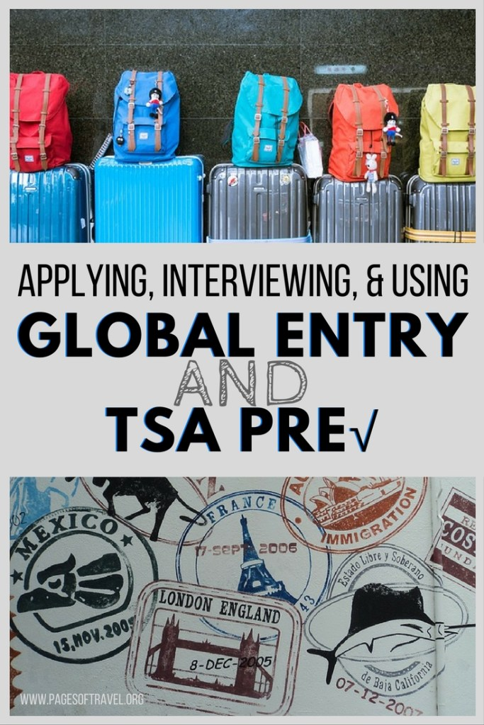 For the frequent flyer, havingGlobal Entry will save tons of timewhile making your way through customs and security in many airports around the world. Learn how to apply, interview, and use your Global Entry pass and TSA Pre to travel hack around the world!