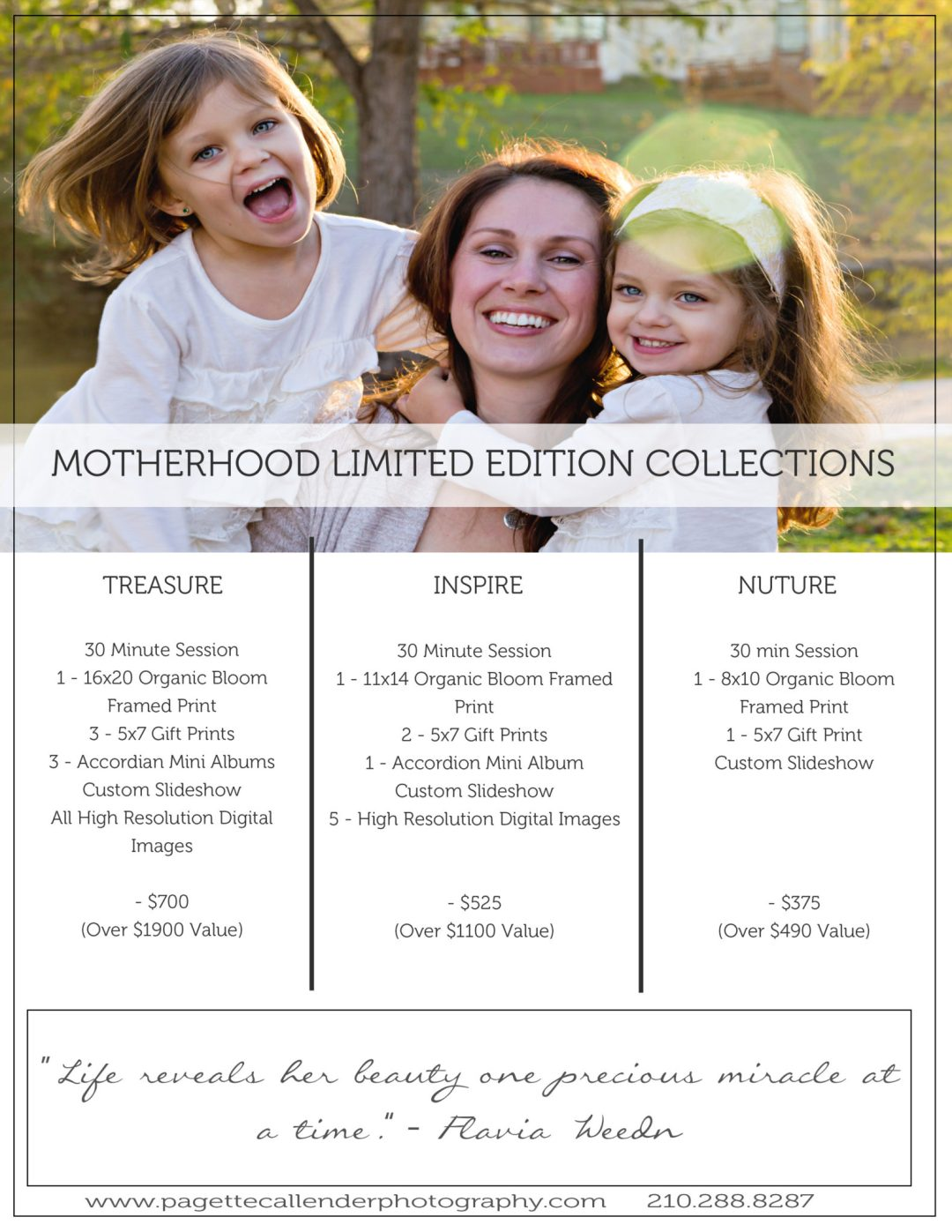 2017 PCP Motherhood Limited Edition Sessions