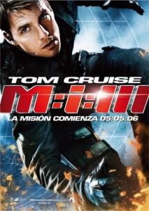 MISIÓN: IMPOSIBLE III (Mission: Impossible III)