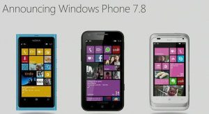 Anunciando Windows Phone 7.8