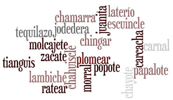 mexicanismos mexican words
