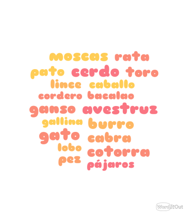 Frases animales español