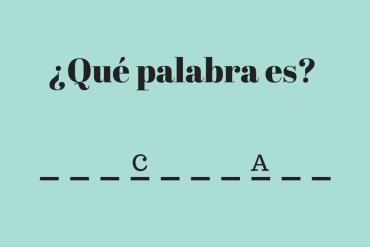 hangman in Spanish