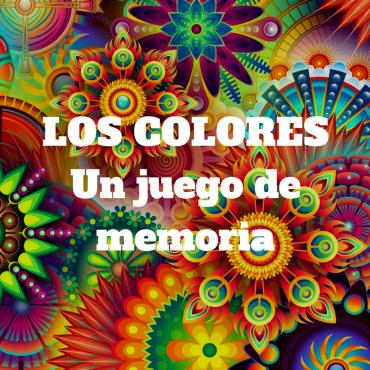 Los colores, un juego de memoria