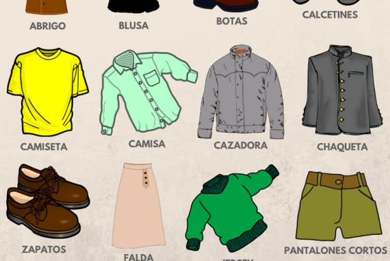 La ropa en español