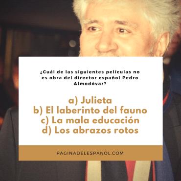 ¿Cuál de las siguientes películas no es obra del director español Pedro Almodóvar?