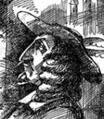 Disegno di Cyrano de Bergerac