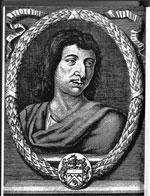 Disegno di Savinien de Cyrano