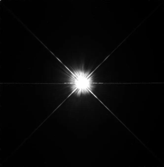 La stella 51 Pegasi ripresa nella luce visibile dal telescopio spaziale Hubble il 7 agosto 1998 con lo strumento WFPC2. Credit: STScI/NASA