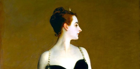 Portrait of Madame X (Madame Pierre Gautreau) di John Singer Sargent (1856-1925)