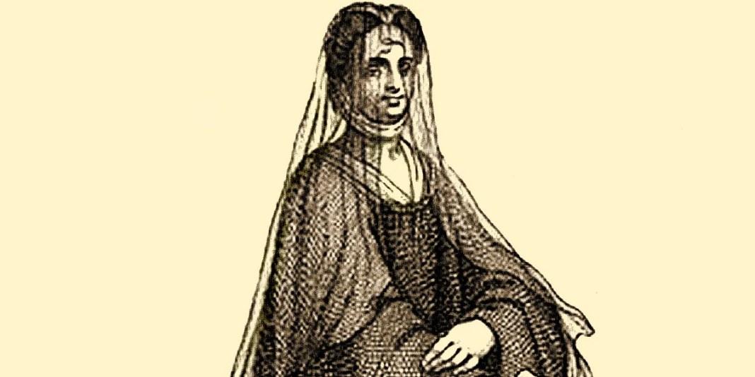 Una suora dell'ordine di San Benedetto