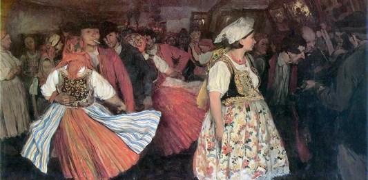 Tańce w karczmie. Włodzimierz Tetmajer