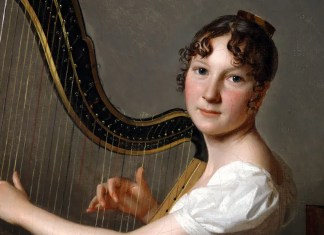 Louis Léopold Boilly – The Young Harpist