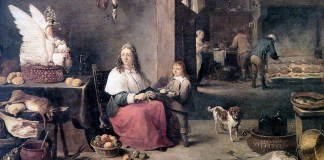 Kitchen. David Teniers the Younger