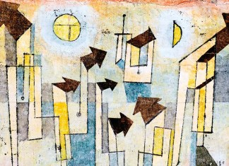 Wall Painting from the Temple of Longing. Paul Klee