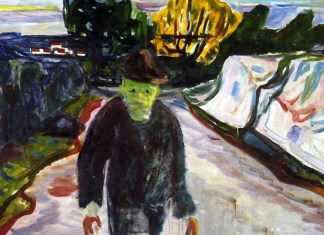 The Murderer. Edvard Munch