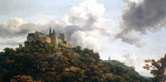 Bentheim Castle. Jacob van Ruisdael