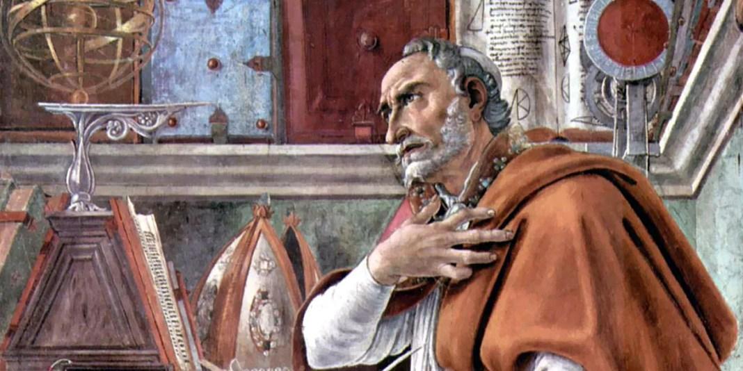 Sant'Agostino nello studio. Sandro Botticelli