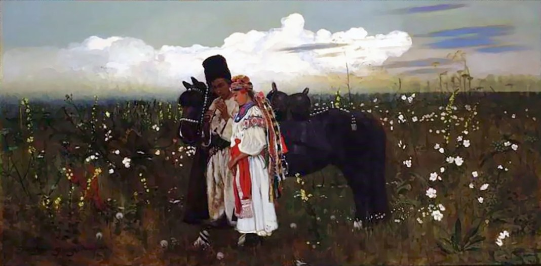 Jarema's dumka (1879), a painting by Stanisław Masłowski in the National Museum in Warsaw.