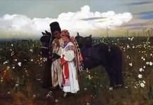 Jarema's dumka (1879), a painting by Stanisław Masłowski in the National Museum in Warsaw.