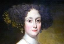 """""""Anna Caffarelli Minuttiba"""" (erroneamente identificato come """"Madame de Brinvilliers"""") di Jacob Ferdinand Voet."""