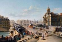 Nicolas Jean-Baptiste Raguenet. Pont Neuf e La Samaritaine