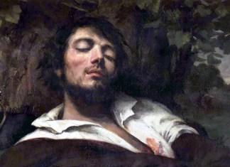 L'homme blessé. Gustave Courbet