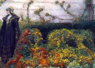 Sarah Bernhardt as Mélisande. Georges Jules Victor Clairin
