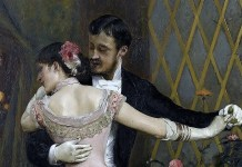 The end of the ball. Rogelio de Egusquiza