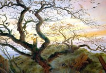 Caspar David Friedrich. The Tree of Crows