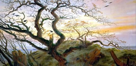 Caspar David Friedrich. The Tree of Crows