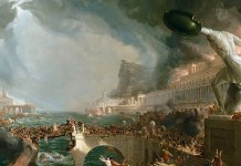 La distruzione dell'Impero romano – Thomas Cole – 1836 – New-York Historical Society