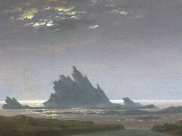 """Reefs by the Seashore"" di Caspar David Friedrich"