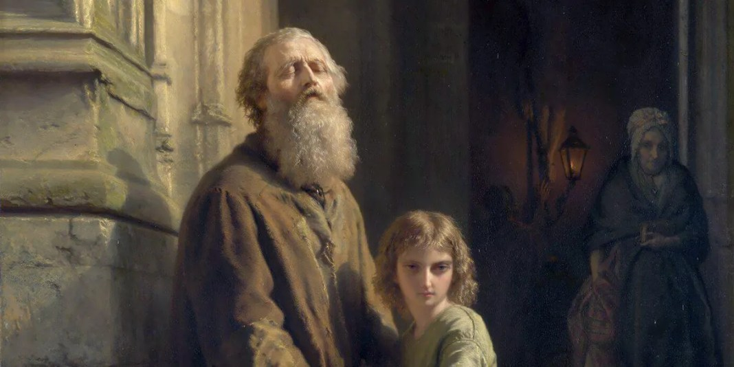 Josephus Laurentius Dyckmans, The Blind Beggar