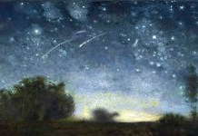 Starry Night. Jean-François Millet