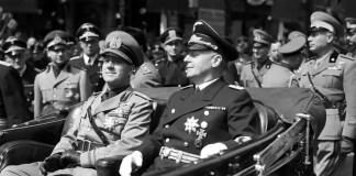 Il conte Galeazzo Ciano con Joachim von Ribbentrop